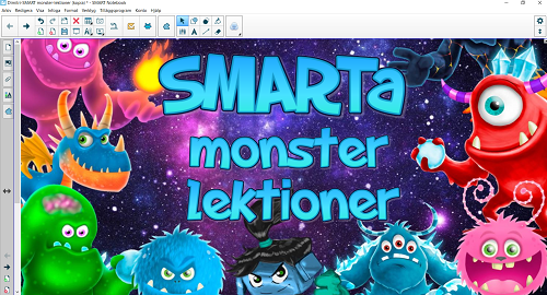 Månadens lektion SMARTKlubben SMART Board Monster